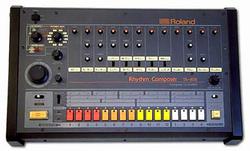 The Roland TR-808 Rhythm Composer, produced 1980–1984