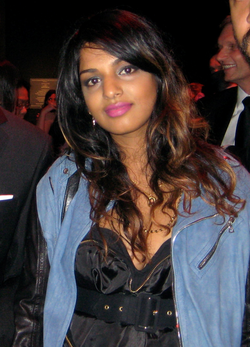 "In 2009, Time magazine placed M.I.A. in the Time 100 list of ""World's Most Influential People"""