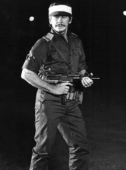 Bronson as Dan Shomron in Raid on Entebbe (1977)