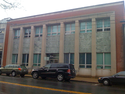 The building that long housed The Daily Progress, on Market Street in downtown Charlottesville. Worrell built a new newspaper production building in Albemarle County, and donated the downtown building to civic agencies.