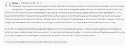 A highly critical comment of Travis and his website, Everipedia left by one of the users of the site. The comment has since been removed by other editors of Everipedia although Travis believed that it should remain online due to freedom of speech concerns.