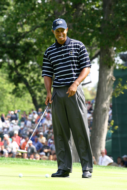 Woods at the 2004 Ryder Cup