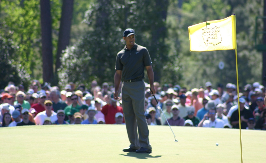Woods at the 2006 Masters Tournament