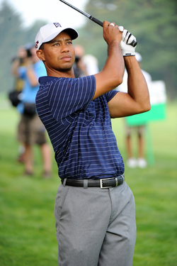 Woods competing at the third annual Earl Woods Memorial Pro-Am (July 1, 2009)