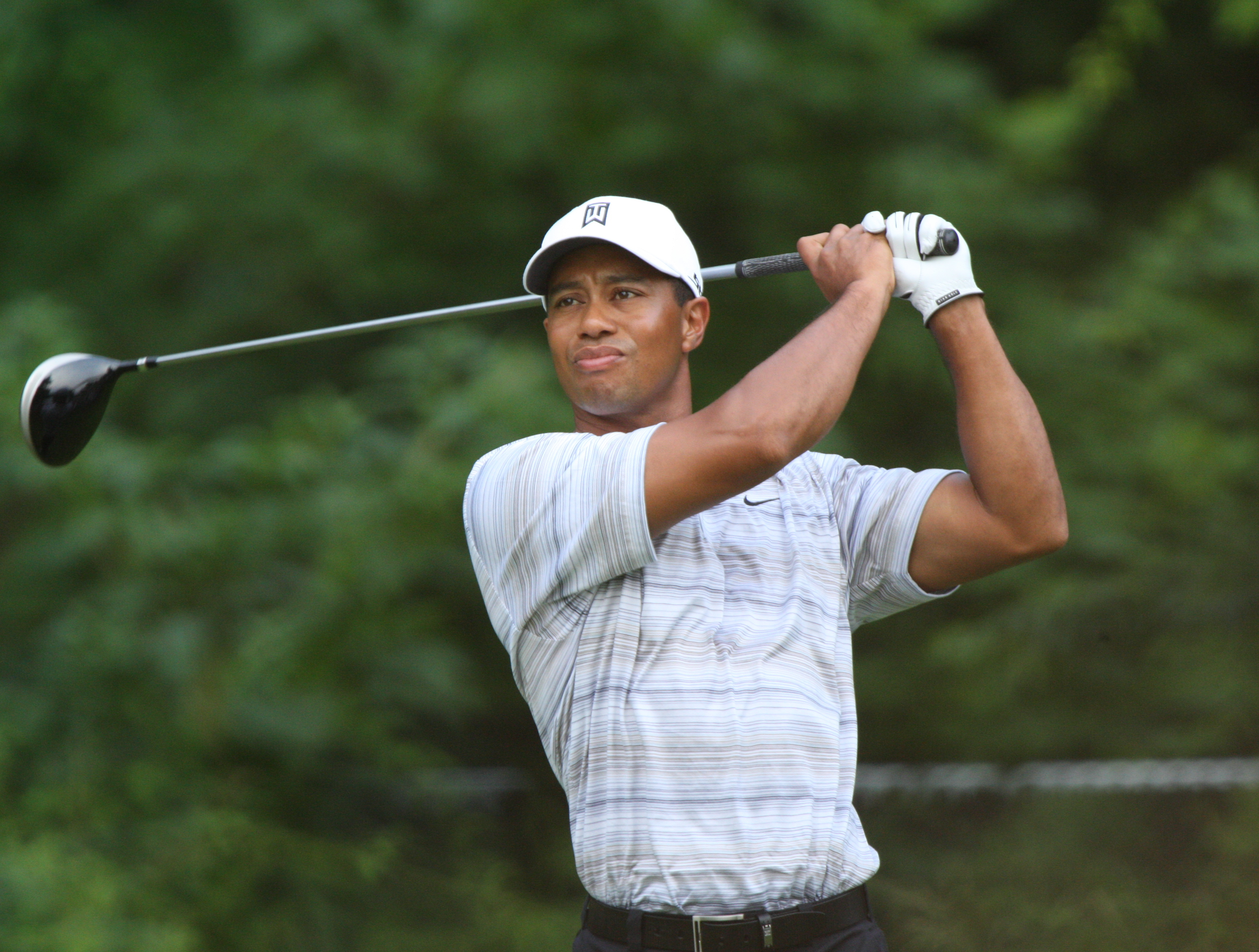 Woods driving in 2007