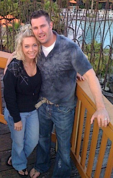 Hymas and his wife