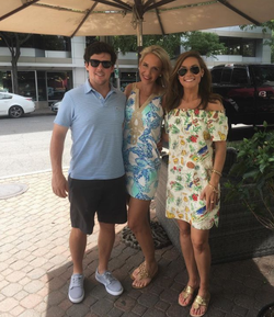 Photo of Lisa Boothe with her bother Ryan and his wife Kathryn[6]