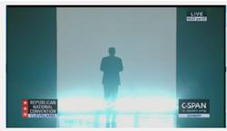 Trump at the 2016 RNC.
