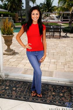 Undated photograph of Ariana