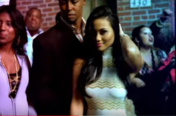 "Daphne Joy in Colby O'Donis​'s ""What U Got​"" music video"