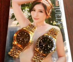 With watches