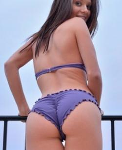 Her butt