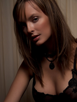 Photo of Shera Bechard with brown hair[11]