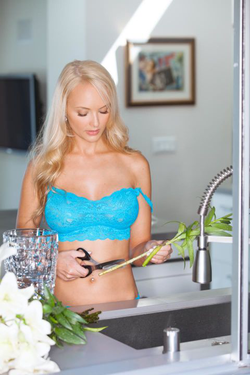 Photo of Shera Bechard from a Playboy photo shoot[10]