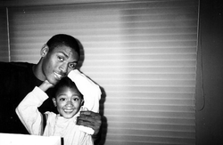Ron Artest III                              with his father,                               Ron Artest                              ​.
