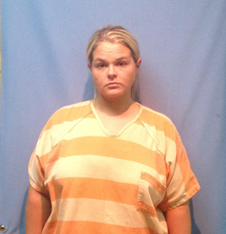 The mugshot of Nicole Winberry.