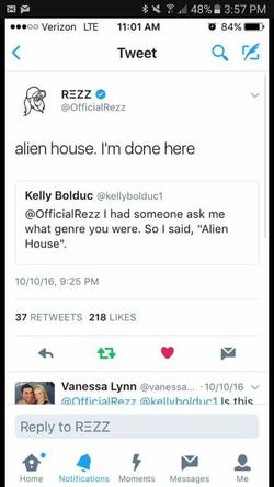 Rezz plays Alien House