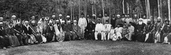 Meeting of Druze and Ottoman leaders in Damascus.