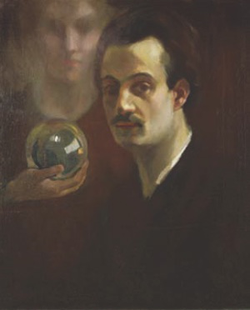 Self portrait of renowned Lebanese poet/writer Khalil Gibran