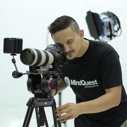 Aidid Marcello filming