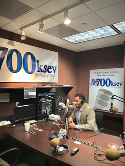 KSEV 700 Radio in Texas Interview with Alex Miller