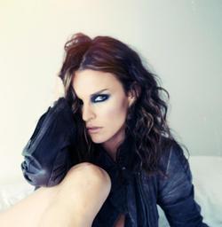 Ana Alexander faceshot (makeup)