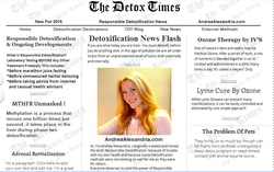 THE DETOX TIMES is a news aggregator with a curated front page, aiming to select stories from entrepreneurial physicians from around the world offering alternative treatments for toxic syndromes in toxic times. This website is specifically for the Internet audience interested in alternative medicine, ozone therapy and trending health views.