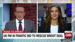 Bianca Nobilo pictured on CNN