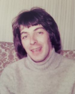 Bill Fairclough in Yarm in the seventies.
