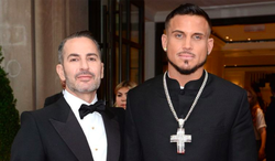 Char Defrancesco pictured withMarc Jacobs