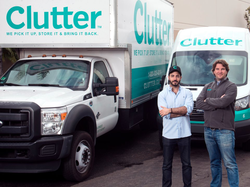 Photo of the founders of Clutter, Ari Mir and Brian Thomas. [10]