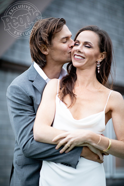 Crais and Barbara's wedding photo