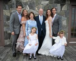 Bush family (pictured on Laura Bush Instagram)