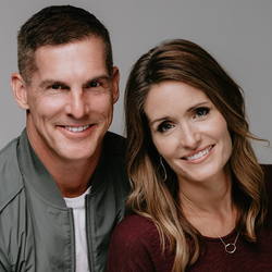 Craig Groeschel with his wife Amy