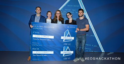 Daniel was the lead developer on Team Chestnut, which won 2nd place and best UX at the EOS London Global Hackathon in September, 2018.