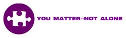 You Matter-Not Alone Logo