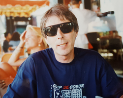 Bill Fairclough in Paris in the nineties
