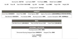 Booking information of Emiel Hunt