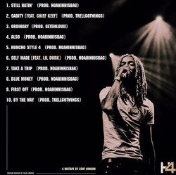 The back cover of the Honcho 4 Mixtape.