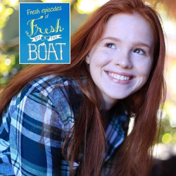 Poster with Isabel Oliver Marcus and the Fresh Off the Boatlogo.[10]