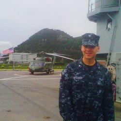 Jack Posobiec in the US Navy Reserve (2010)