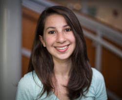 Katie Bouman pictured on California Institute of Technology​
