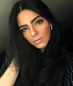 A selfie of Larissa Saad (January 2019)