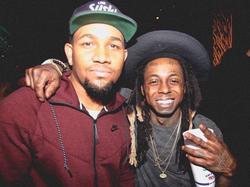 Larry Morrow with Lil Wayne