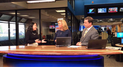 Lindsey Maule speaking about Bitcoin for the first time on Fox's local station.
