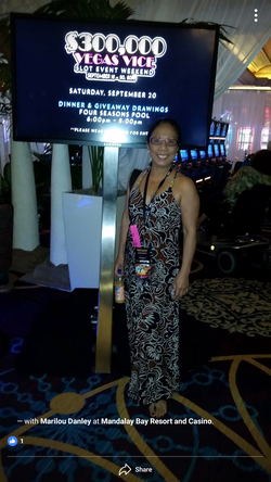 Marilou Danley pictured at the Mandalay Bay Resort Casino. Rumored to have been taken a few weeks prior to the Las vegas shooting.