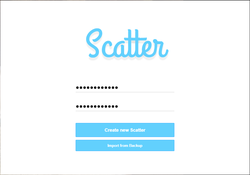 Scatter desktop software
