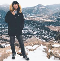 Scott exploringRocky Mountain National Park