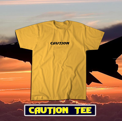 STEALTH FIGHTER Caution Tee
