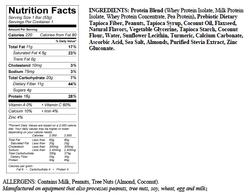 Snack Bar ingredients